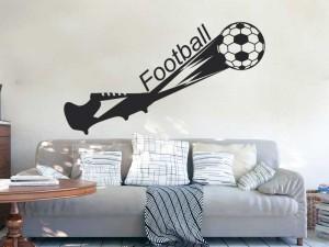 Autocolante Sapato de Futebol