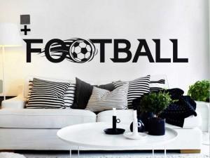 Autocolante Logo Football