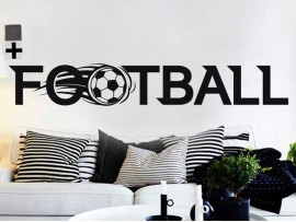 Autocolante Logo Football