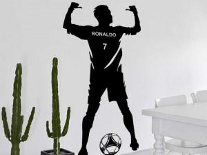 Autocolante Jogador de Futebol 2