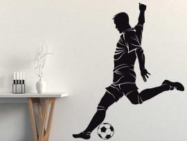 Autocolante Jogador de Futebol 4