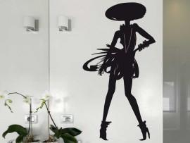 Autocolante La Petite Robe Noire Guerlain