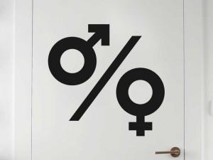 Autocolante WC Masculino / Feminino