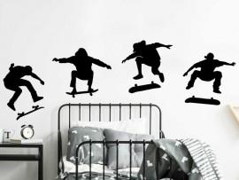 Autocolante Pack 4 Skaters 3