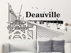 Autocolante Paisagem Deauville Cinéma