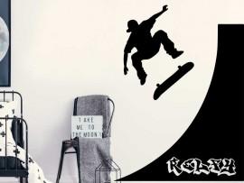 Autocolante Rampa de Skateboard