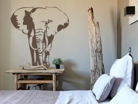 autocolante vinil elefante africa