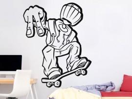 Autocolante Skater Fun