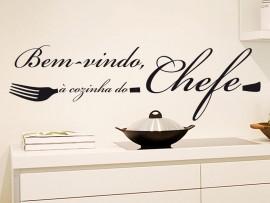 Autocolante Cozinha do Chefe