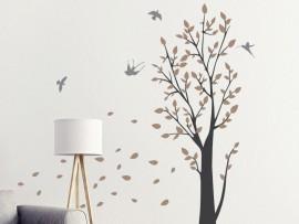 Autocolante Árvore ao Vento