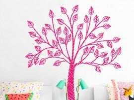 Autocolante Árvore lápis