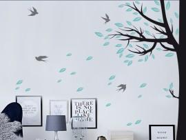 Autocolante Árvore de canto