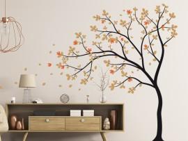 Autocolante Árvore Flores do Outono 2