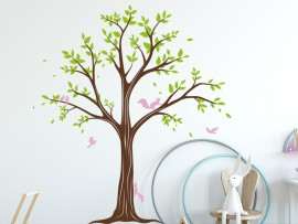 Autocolante Árvore Bolas 3