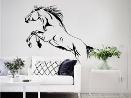 autocolante vinil cavalo equitação