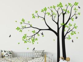 Autocolante Árvore Borboletas