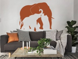 Autocolante Elefante 2
