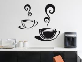 autocolante vinil chavenas cafe cozinha
