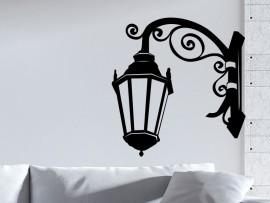 Autocolante Lâmpada mural Barroco