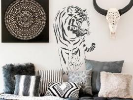 autocolante vinil tigre africa