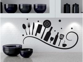 autocolante vinil cozinha espiral