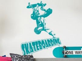 Autocolante Skateboarding