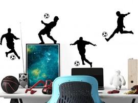 Autocolante Pack 4 Jogadores de Futebol