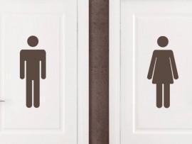Autocolante Man & Woman