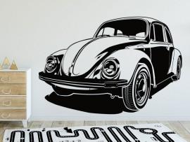 Autocolante Carro Joaninha VW