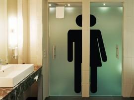 autocolante vinil wc homen e mulher