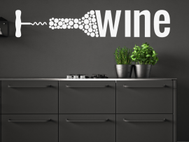 autocolante vinil cozinha vinho