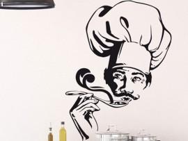 Autocolante Chef 2