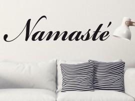 Autocolante Namasté