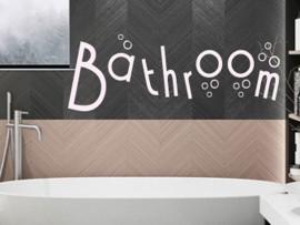 Autocolante Bathroom Bulles
