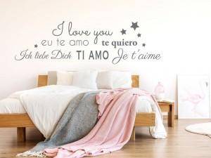 Autocolante Pele Mele I Love You