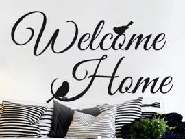 Autocolante Welcome Home