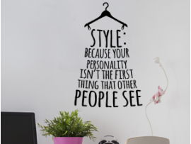 Autocolante Style : Your personality