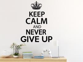 Autocolante Keep Calm Personalizado