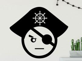 Autocolante Pirata