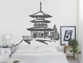 Autocolante Templo Zen