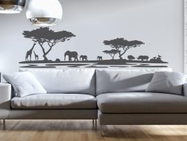 autocolante vinil paisagem africa