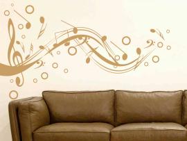 Autocolante Pauta Musical Design