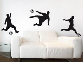 Autocolante Pack Futebolistas