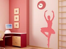 autocolante vinil bailarina classica dansa