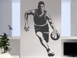 autocolante vinil basket ball