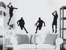 Sticker Pack Joueurs de Basketball
