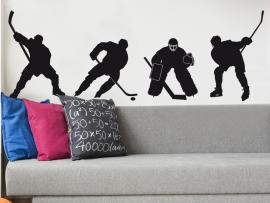 autocolante vinil pack hockey patins