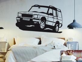 Autocolante Land Rover 4X4
