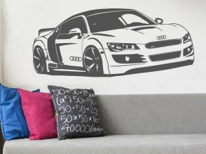 Autocolante Audi R8