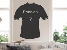 autocolante vinil camisola de futebol